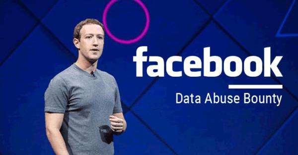 facebook data abus bounty
