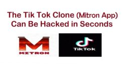 The Tik Tok Clone (Mitron App) Can Be Hacked in Seconds