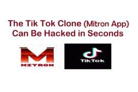 Mitron App Hacked