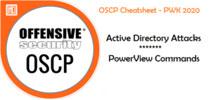 OSCP Cheatsheet PowerView Commands 1