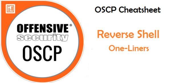 OSCP Cheatsheet Reverse Shell One Liners