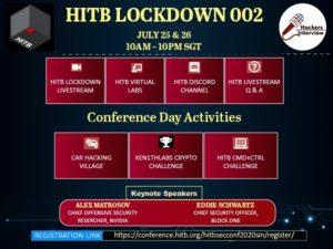 HITB-Lockdown002 - Hackers Interview