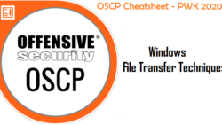 OSCP Blog Series – OSCP Cheatsheet – Windows File Transfer Techniques