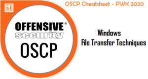 OSCP Cheatsheet - Windows File Transfer Techniques